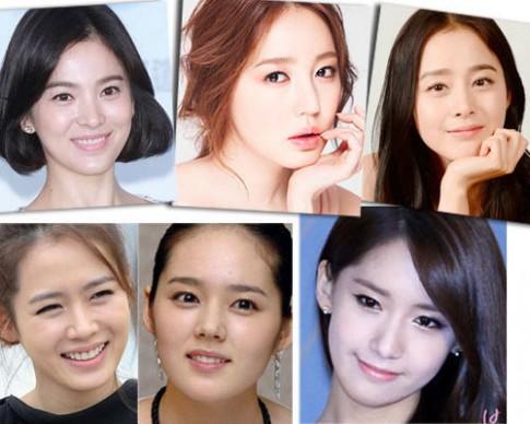 Kiều nữ Hàn đẹp với make up trong suốt