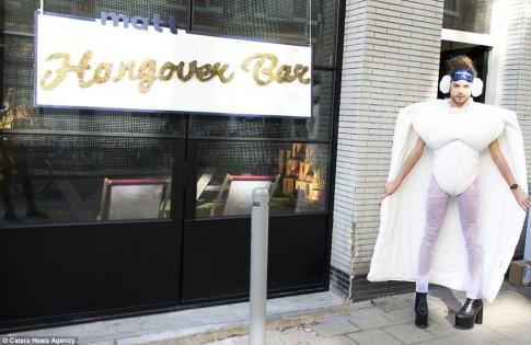 Lộ diện quán bar cho người say đầu tiên trên thế giới