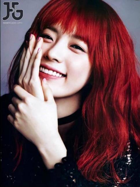 Mái tóc nhuộm đỏ có hợp với bạn?