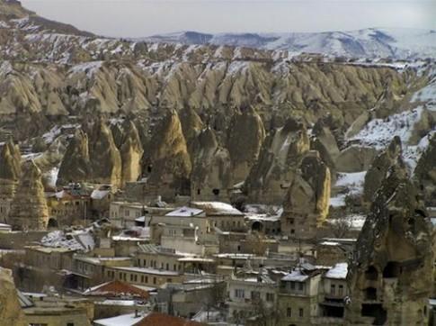 Ngắm cảnh quan ngoạn mục của Thổ Nhĩ Kỳ