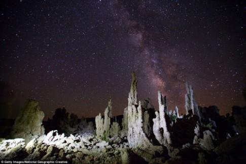 Ngắm những tháp đá độc đáo như trên hành tinh lạ