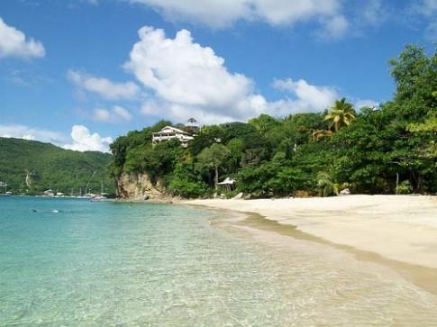 Những hòn đảo xinh đẹp trên biển Caribe