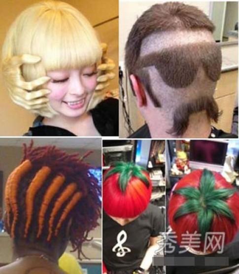 Những kiểu tóc sáng tạo đến sửng sốt