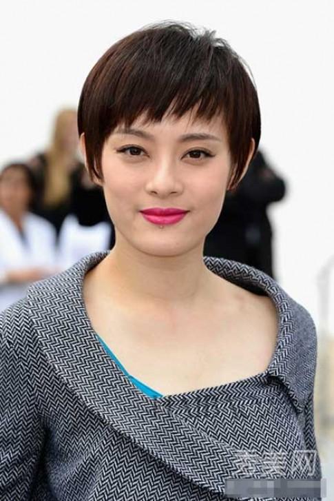 Những mỹ nhân tóc ngắn xinh đẹp của Cbiz
