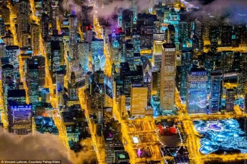 Những thành phố lung linh nhất trong đêm