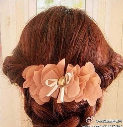 Tạo tóc viền xinh yêu như công chúa