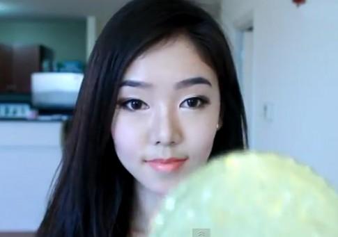 Trang điểm xinh như thiếu nữ Hàn
