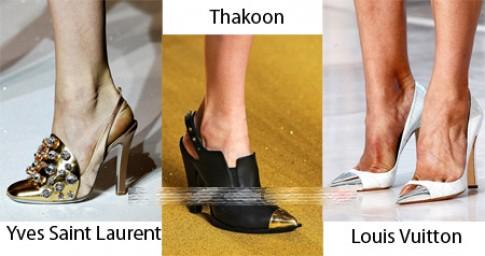 12 mẫu giày, guốc không thể bỏ qua