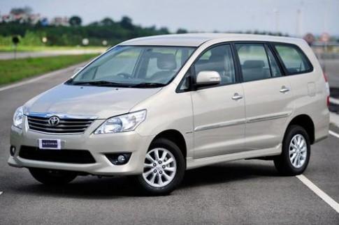45.000 xe Toyota Innova bị triệu hồi vì lỗi vô-lăng