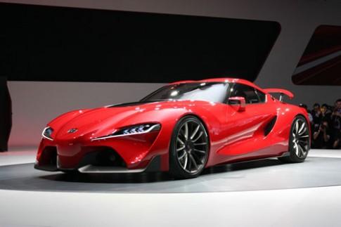 Ảnh chi tiết Toyota FT-1 concept