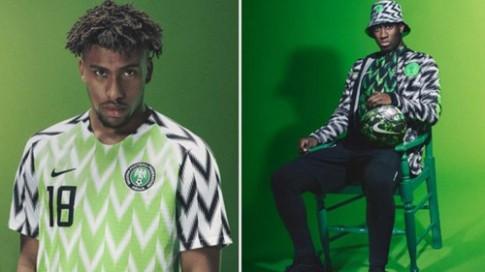 Áo đội tuyển Nigeria tại World Cup 'cháy hàng' chỉ sau ba phút