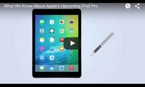 Apple có thể giới thiệu iPad Mini 4 và cả iPad Pro trong sự kiện 9/9