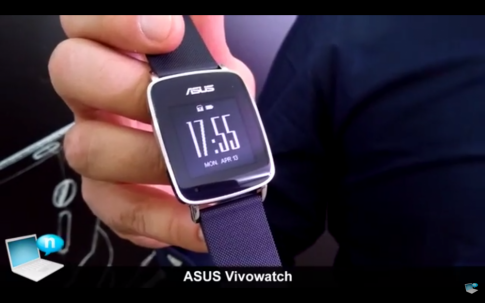 Asus ra mat VivoWatch su dung chip MediaTek khong chay Android Wear