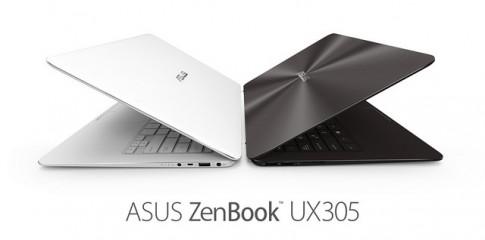 """ASUS ZenBook UX305, ultrabook 13.3"""" mỏng nhất thế giới về đến Việt Nam"""