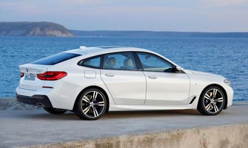 BMW hé lộ serie 6 Gran Turismo mới