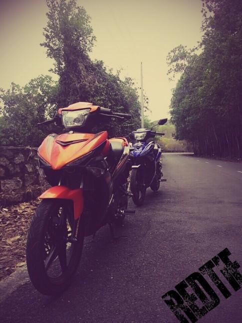 Bộ đôi Exciter phiên bản giới hạn và biển số cặp của 2 biker Vũng tàu