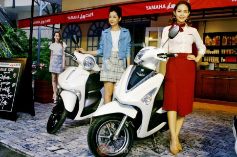 Bối cảnh thể hiện vẻ đẹp For Beautiful Ride tại Yamaha Café