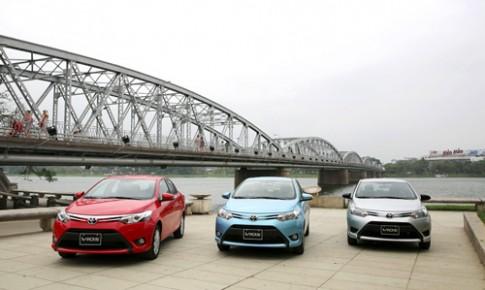 Cận cảnh Toyota Vios mới