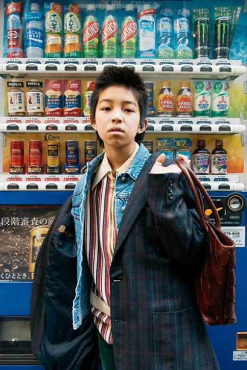 Cậu bé Nhật 15 tuổi nổi tiếng nhờ phong cách nổi loạn