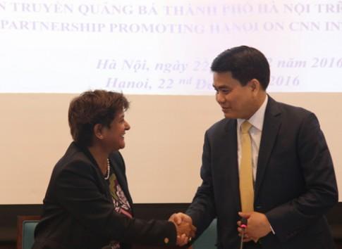Chi 2 triệu USD, Hà Nội lên sóng CNN trong 2 năm