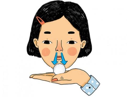 """Chiêu dạy con biết xì mũi """"một phát ăn ngay"""""""