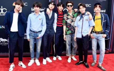"""Choáng váng khi """"bóc giá"""" loạt trang phục của BTS trên thảm đỏ Billboard Music Awards 2018"""