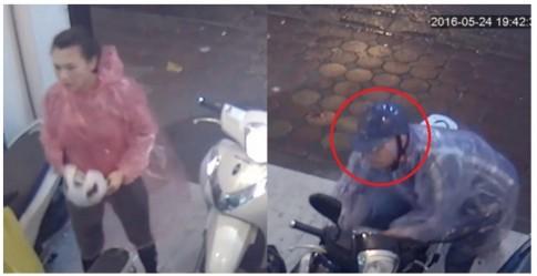 Cộng đồng mạng truy lùng cặp đôi trộm xe Honda SH trong vòng 10 giây