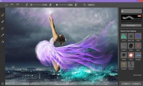 Corel giới thiệu bộ công cụ ParticleShop cho Photoshop
