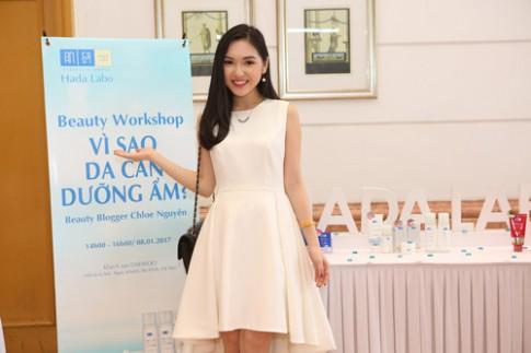 Cùng Chloe Nguyễn dưỡng ẩm cho làn da trong ngày đông Hà Nội.