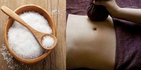 Đánh bay mỡ bụng siêu nhanh bằng muối tại nhà