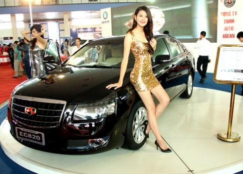 Geely EC820 - sedan cỡ lớn cho thị trường Việt Nam