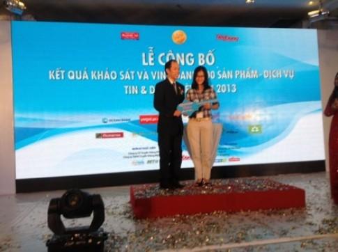 Hãng xe Kymco loạt vào top 100 các hãng xe Tin Dùng tại Việt Nam