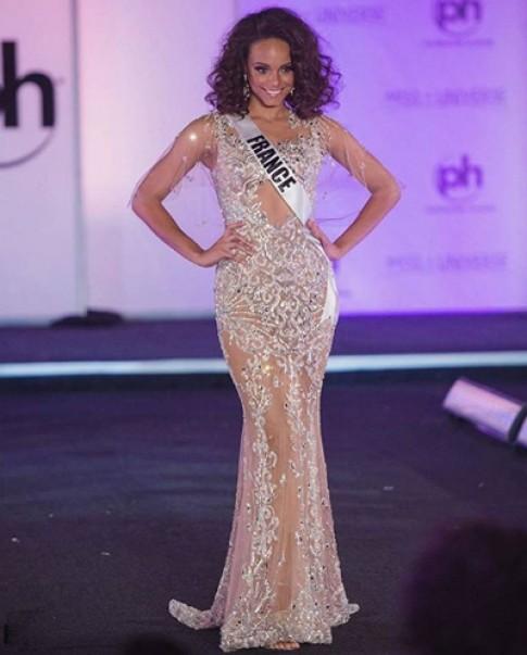 Hoa hậu Pháp, Hàn Quốc diện đầm của nhà thiết kế Việt ở Miss Universe