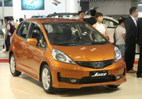Honda Jazz - kình địch tương lai của Yaris ở Việt Nam?