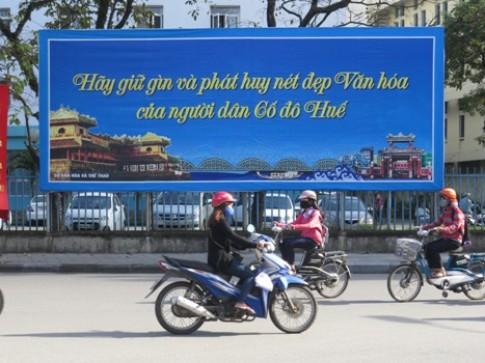 Huế tìm slogan cho du lịch