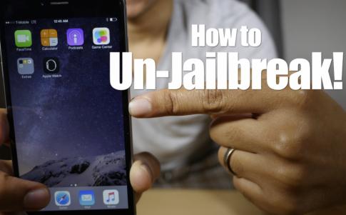 Hướng dẫn xóa Jailbreak nhưng vẫn giữ phiên bản iOS