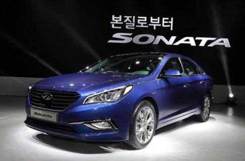 Hyundai Sonata thế hệ mới ra mắt