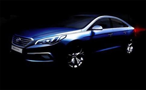 Hyundai Sonata thế hệ mới ra mắt vào cuối tháng