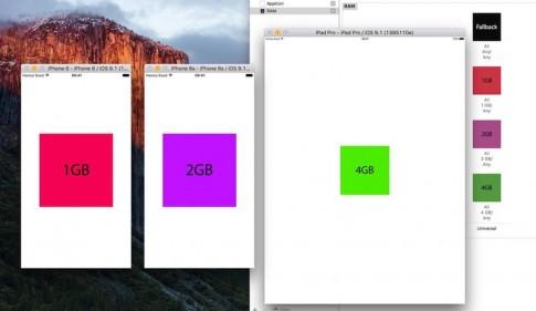 iPhone 6s đã được xác nhận là có Ram 2GB.