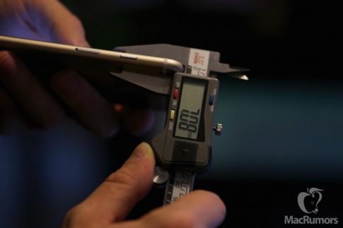 iPhone 6s dày hơn và to hơn so với iPhone 6