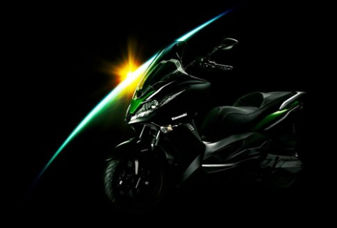 J300 - scooter mới của Kawasaki