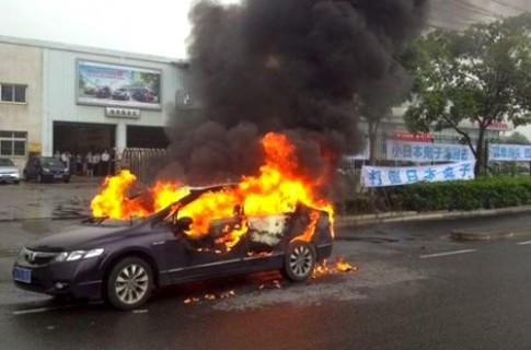 Khó như bán xe Nhật ở Trung Quốc