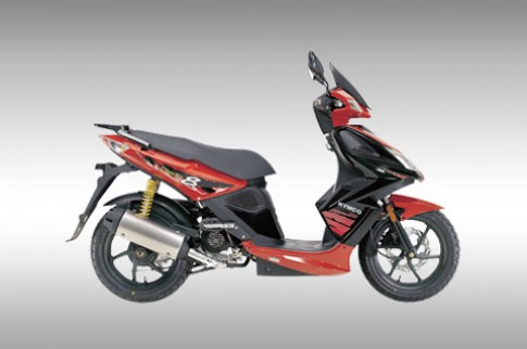 Kymco Super 8 - scooter thể thao