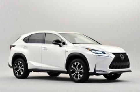 Lexus NX - đối thủ mới của Range Rover Evoque