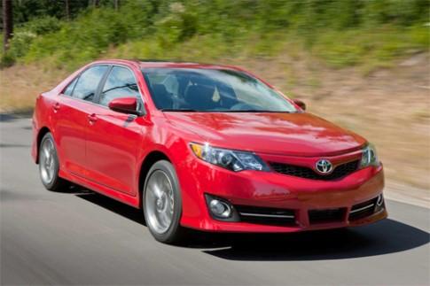 Lộ diện Toyota Camry bản nâng cấp