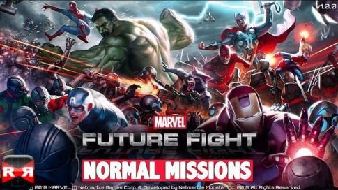 Marvel Future Fight - Siêu phẩm ARPG theo chân Avengers: Age of Ultron