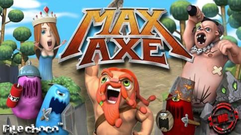 """Max Axe - Epic Adventure! - Tựa game vui nhộn gây """"nghiện"""""""