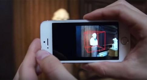 Microsoft biến iPhone thành máy quét 3D
