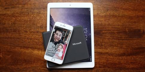 Microsoft sản xuất bàn phím gập siêu mỏng cho iPad và iPhone