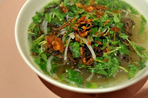 Miến lươn - món ăn của ngày đông